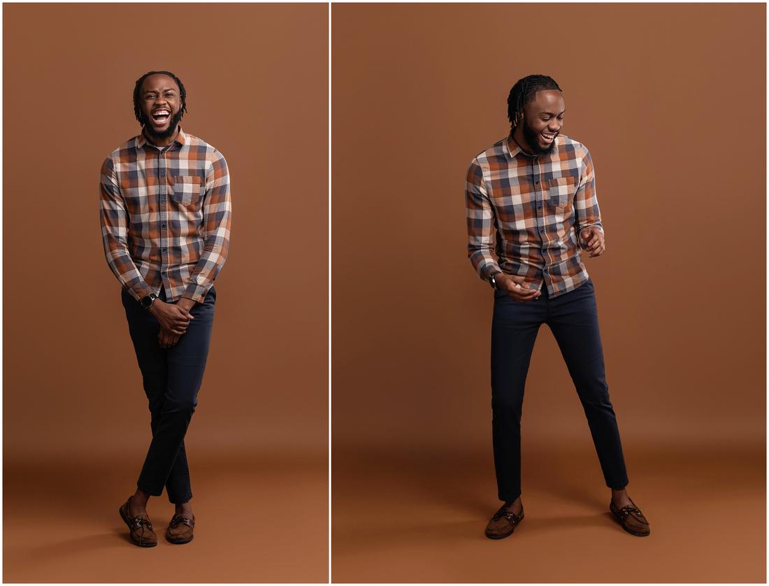 Keshayne's 25rd Birthday Shoot in studio in Bridgeport, CT. Male birthday photo shoot idea.