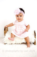 7-month-old Baby Kari [Studio Portraits]