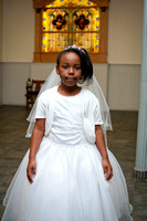 Mickaelah's First Communion