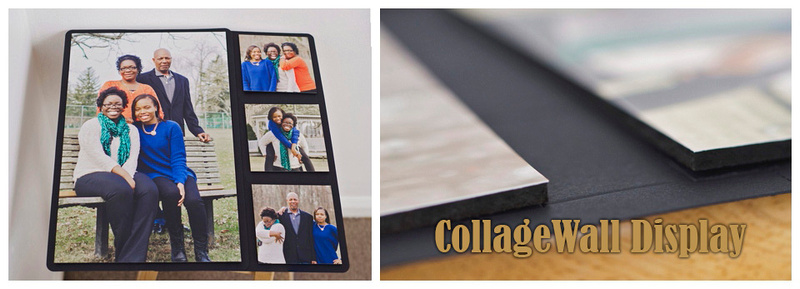 Bay Photo Lab's CollageWall display