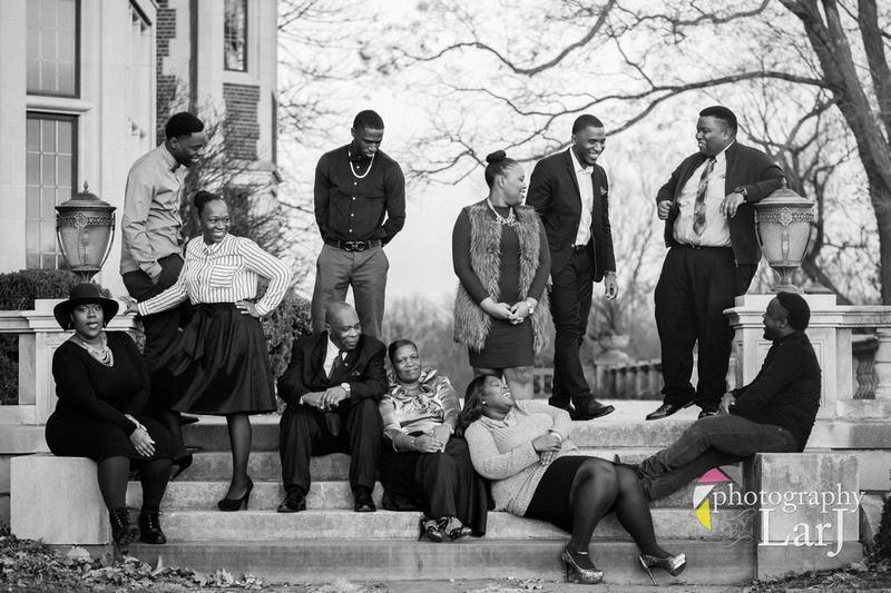 Dorissaint Family Portrait Session