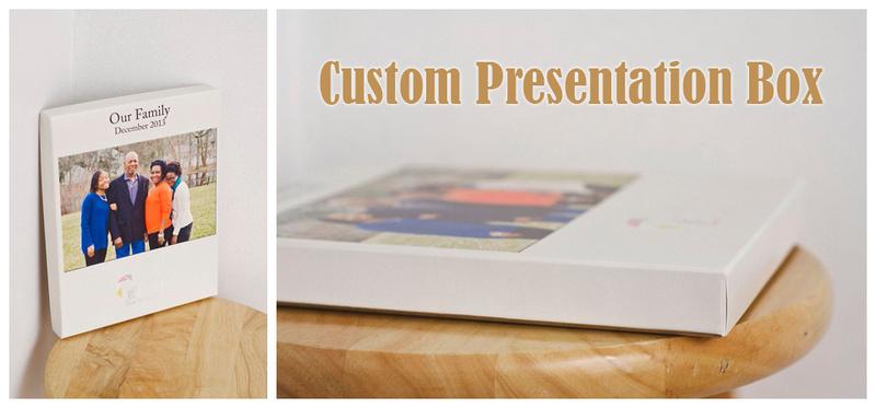 Artsy Couture's custom presentation box