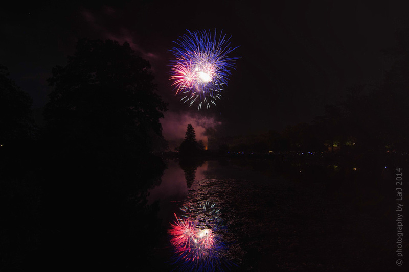 Fireworks Display @ Binney Park