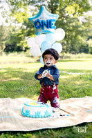 Rian's Cake Smash [1-year portraits]